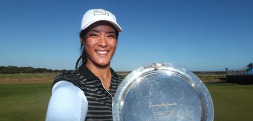 «Ma première victoire sur le LPGA Tour»