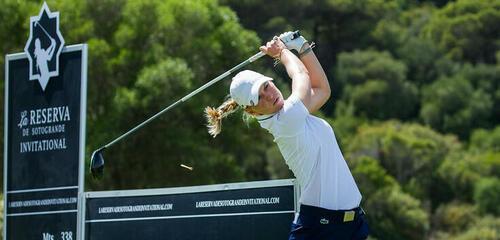 Camille Chevalier : «Un podium avant d'arriver au Jabra Ladies Open»