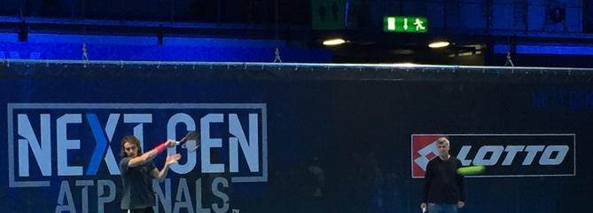 Next Gen: Le tennis fait un bond dans le futur