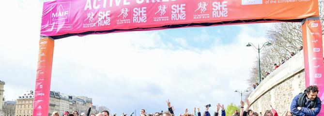 Femmes et sport : pari réussi pour La Lycéenne MAIF Run