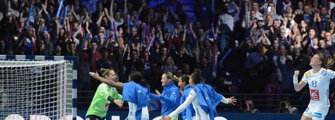 Le roman du hand tricolore: dans les secrets de la performance des équipes de France