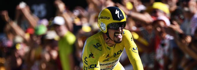 Tour de France : Julian Alaphilippe remporte le contre-la-montre