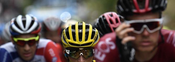 Tour de France : deux hommes en tête avant l'ascension finale
