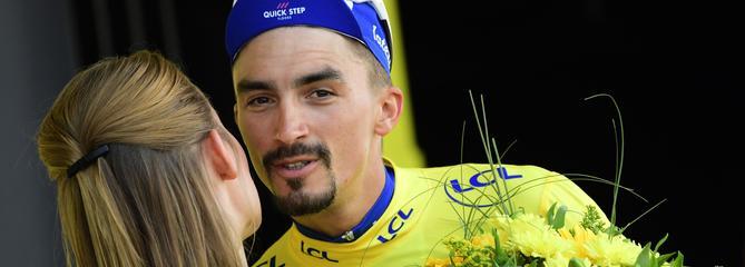 Tour de France: Alaphilippe peut-il rester en jaune jusqu'à Paris?