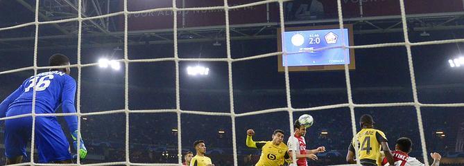 A Amsterdam, Lille a pris une (vraie) leçon de foot