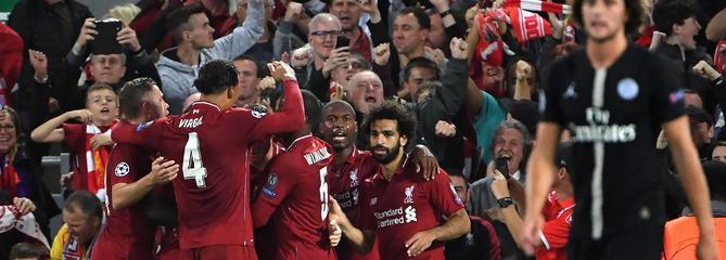 Ligue des champions : trop limité, le PSG craque à Liverpool