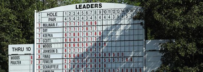 Masters : À quoi va ressembler le parcours d'Augusta en automne ?