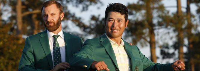 Matsuyama : «J'ai hâte de rentrer au Japon avec ma veste verte»
