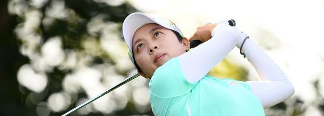 Evian Championship : Hyo Joo Kim prend la tête du tournoi juste avant la pluie