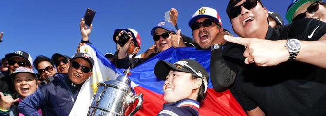 US Open féminin : premier majeur pour la jeune Philippine Yuka Saso