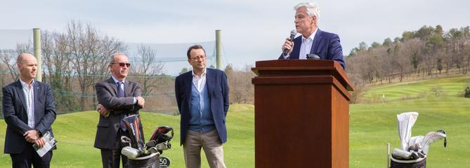 Jean-Marie Casella : « Former de futurs champions au sein de notre « Terre Blanche Golf Academy» »
