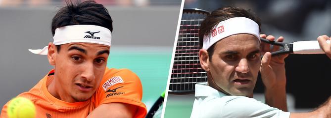 Roland-Garros : Sonego-Federer en direct