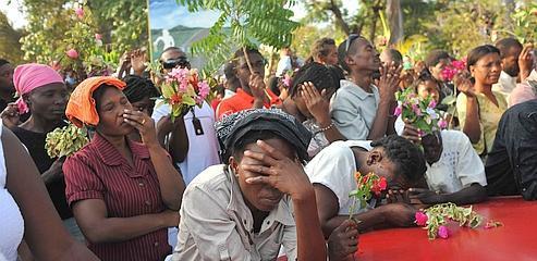 Haïti trouve enfin le temps de pleurer ses morts
