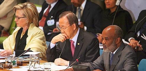 Dix milliards de dollars pour la reconstruction d'Haïti