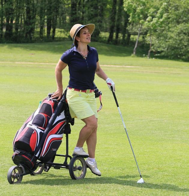 Marie-Christine Marechet du Golf des Etangs (Karin Dilthey).