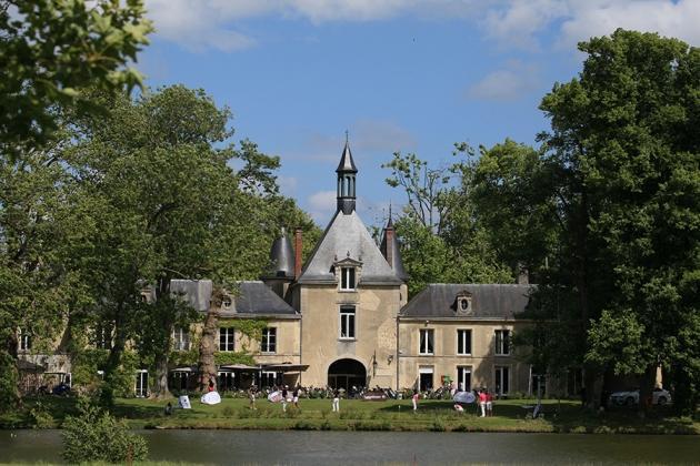 Le parcours de Reims Champagne, un joli jardin, et son club-house abrité dans le château des Dames (Karin Dilthey).