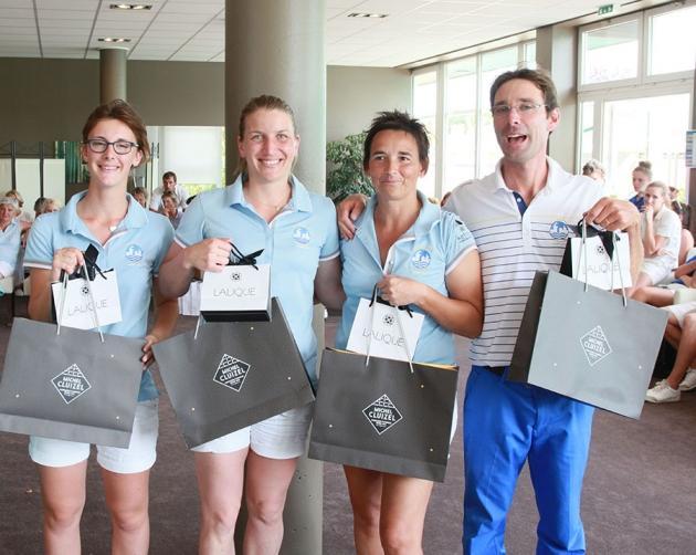 Les vainqueurs en net récompensés par la maison Lalique et le chocolatier Cluizel  (Karin Dilthey)