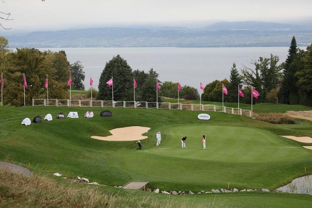 Un grand parcours de championnat, l'Evian Resort Golf Club (Karin Dilthey).