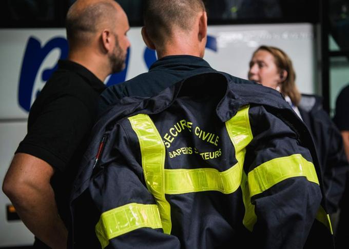Un détachement de militaires français spécialisés dans la lutte au sol contre le feu est arrivé dimanche 22 juillet au soir en Suède.