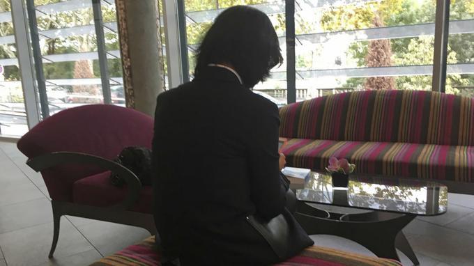 Grace Meng, l'épouse du président disparu d'Interpol.