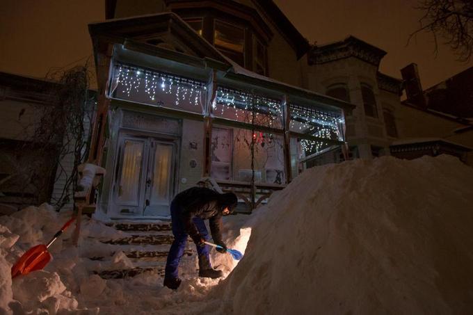 Buffalo, New York, le 30 janvier