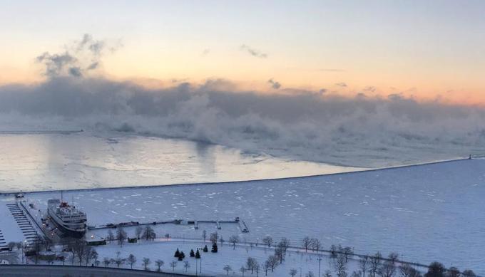 Lac Michigan, 30 janvier
