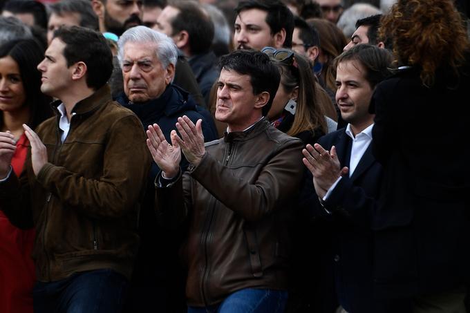 Manuel Valls à Madrid, le 10 février 2019.