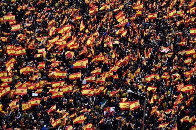 La foule, dimanche 10 février 2019, à Madrid.