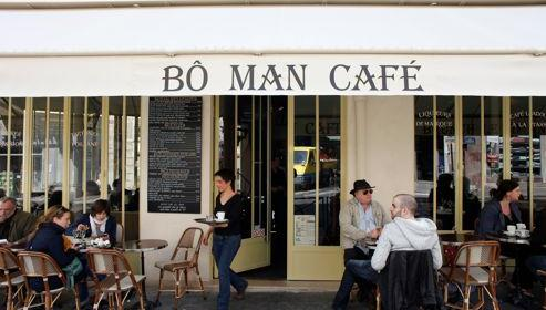 Lire la critique : Bô Man Café