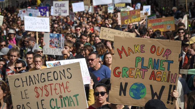 Climat : la «Marche du siècle»