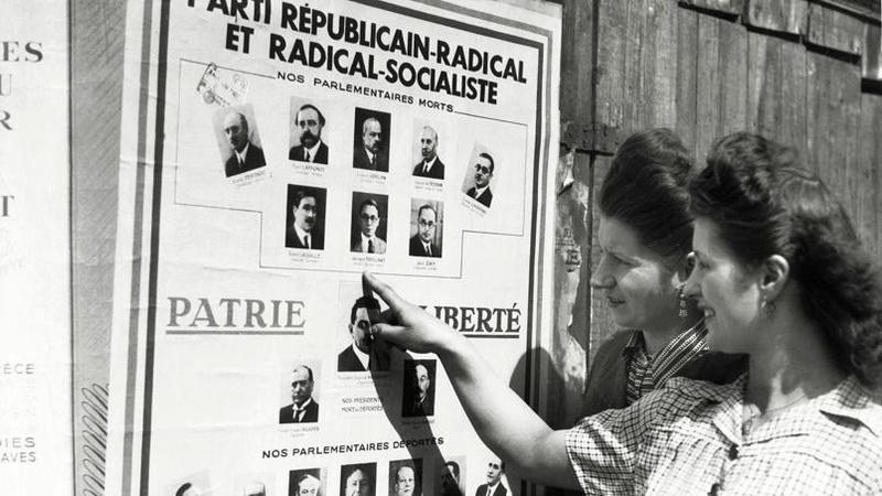 droit de vote accorde aux femme en france