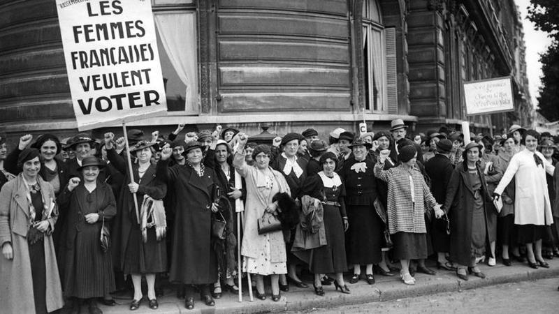 le droit de vote des femmes en france a 70 ans. Black Bedroom Furniture Sets. Home Design Ideas