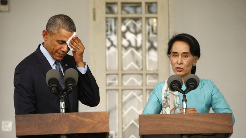 obama rencontre aung san suu kyi