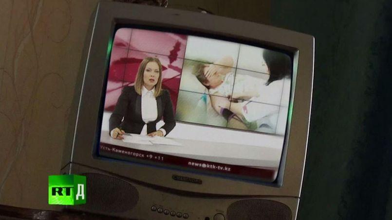 La chaîne Russia Today a diffusé un reportage sur le village de Kalachi (capture d'écran)