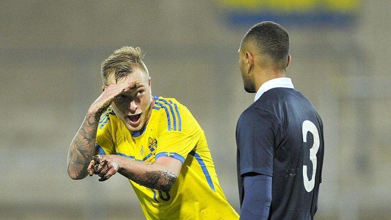 Après le quatrième but de son équipe, le Suédois John Guidetti, a répondu à Layvin Kurzawa.