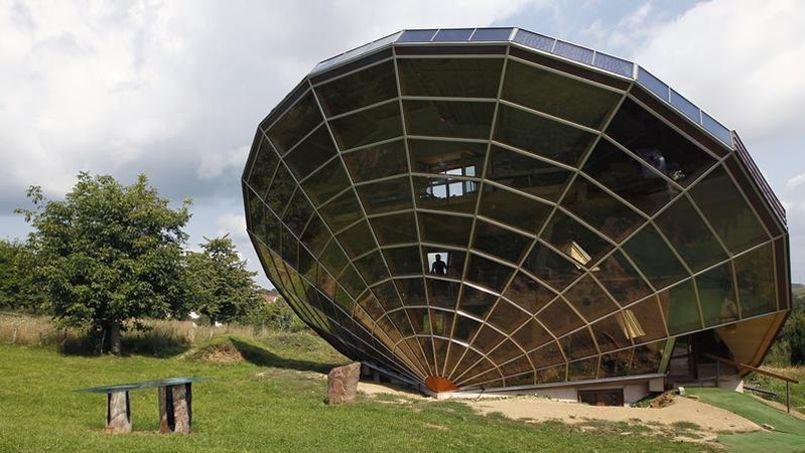 La grande verrière est dessinée à partir d'un cadran solaire. (Crédit: Vincent Kessler/Reuters)
