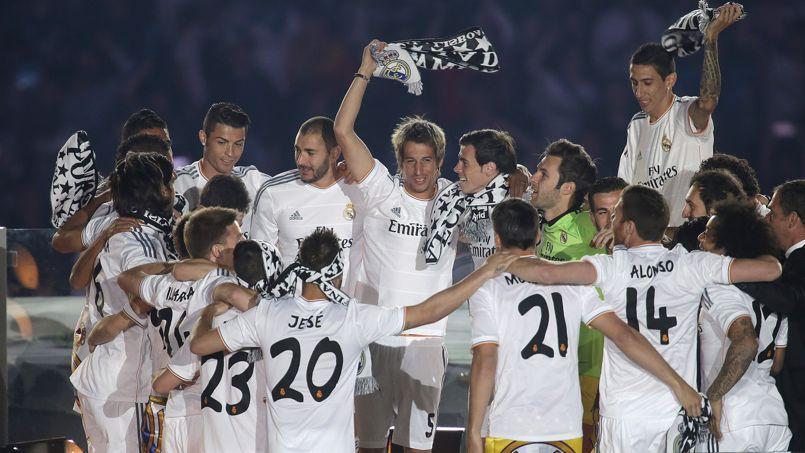 Le Real Madrid, vainqueur de sa dixième Ligue des Champions en 2014.