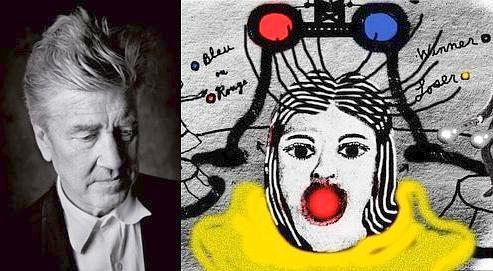 David Lynch expose ses lithographies aux Galeries Lafayette (Marc Berry, DR)