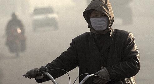 Le centre de Lifen. Cette ville chinoise est l'une des plus polluées au monde.