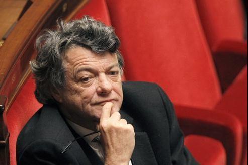 Jean-Louis Borloo, à l'Assemblée nationale.