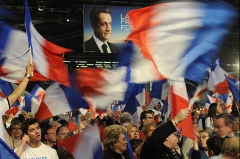 Dimanche matin, quelques heures avant le discours de Nicolas Sarkozy.