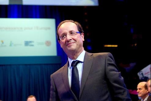 François Hollande, samedi à Paris.