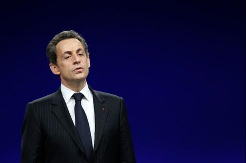 Nicolas Sarkozy accuse Le Monde de faire campagne pour François Hollande.