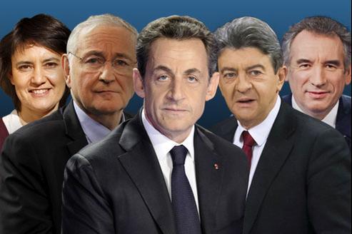 Grand oral pour cinq candidats