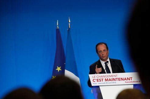 François Hollande a donné, mercredi à Paris, sa première grande conférence de presse, face à 280 journalistes, dont 73 étrangers.