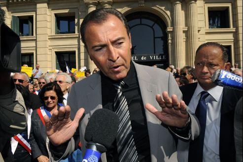 Lionnel Luca, habitué aux déclarations polémiques, a critiqué toute la gauche lors d'une réunion de soutien à Nicolas Sarkozy