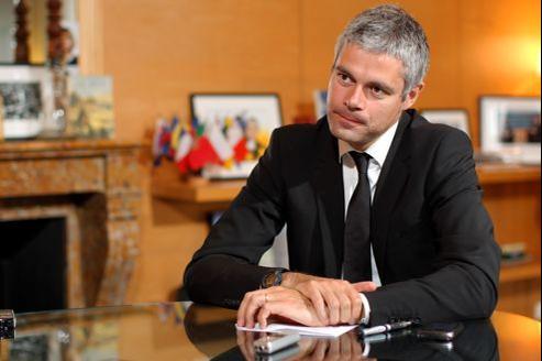 Laurent Wauquiez, ministre de l'Enseignement supérieur et leader de la Droite sociale.