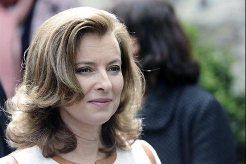 Valérie Trierweiler, le 6 mai, à Tulle.