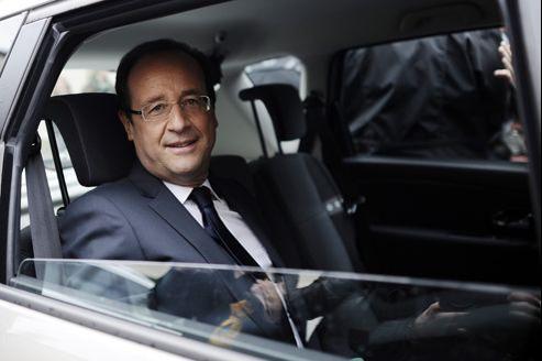 François Hollande, dimanche à Tulle.