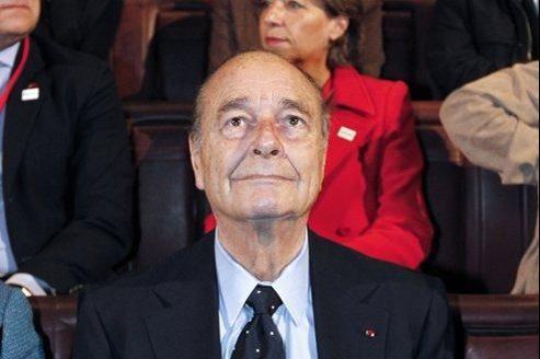 Jacques Chirac en novembre dernier.